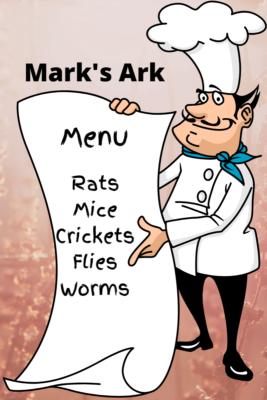 Mark's Ark - On the Menu Cartoon